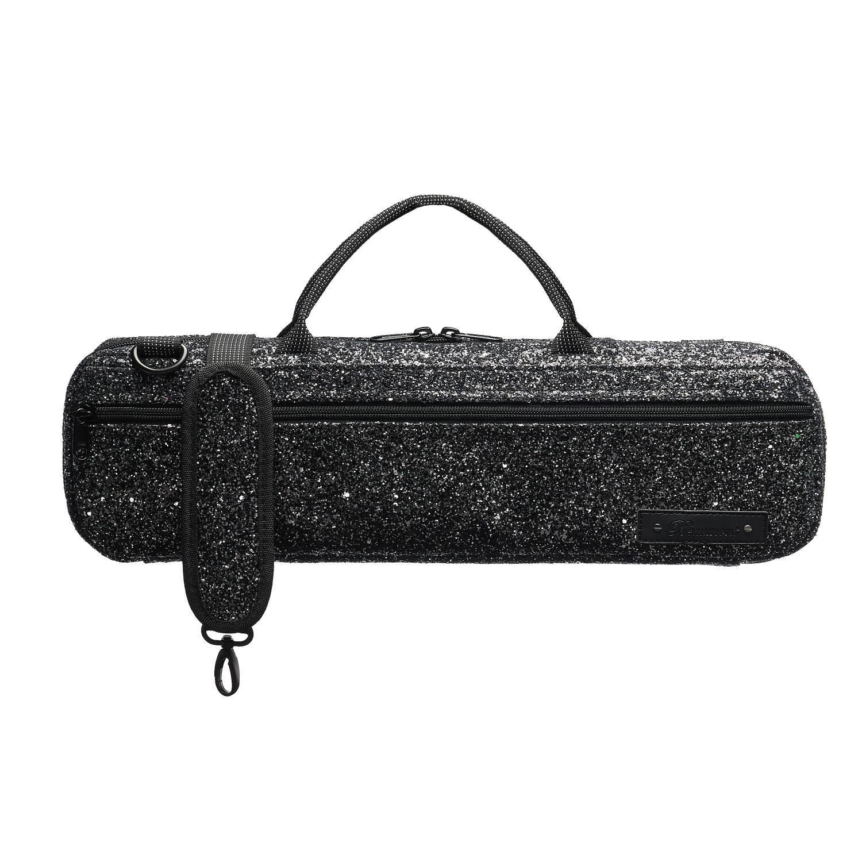 Beaumont Black Sparkle B Foot Flute Bag